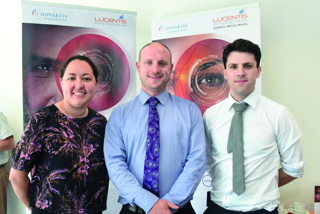 Royal Victoria Eye and Ear Hospital New Frontiers in Ophthalmology  Dr Gabriella Guevara, Dr Shane O'Regan, Dr Shane Whitlow.