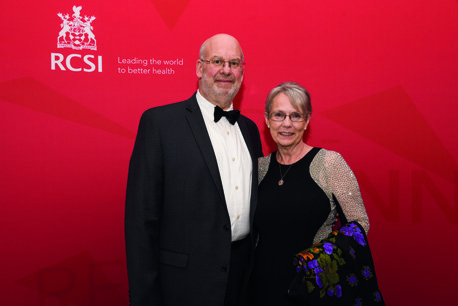 18/08/2018, Dr Jack Mancus (Medicine, 1978) and Mrs Andrea Mancus at the RCSI Alumni Gathering Gala Dinner in the Round Room at The Mansion House, Dawson Street, Dublin 2 (Picture by: Lafayette Photography)