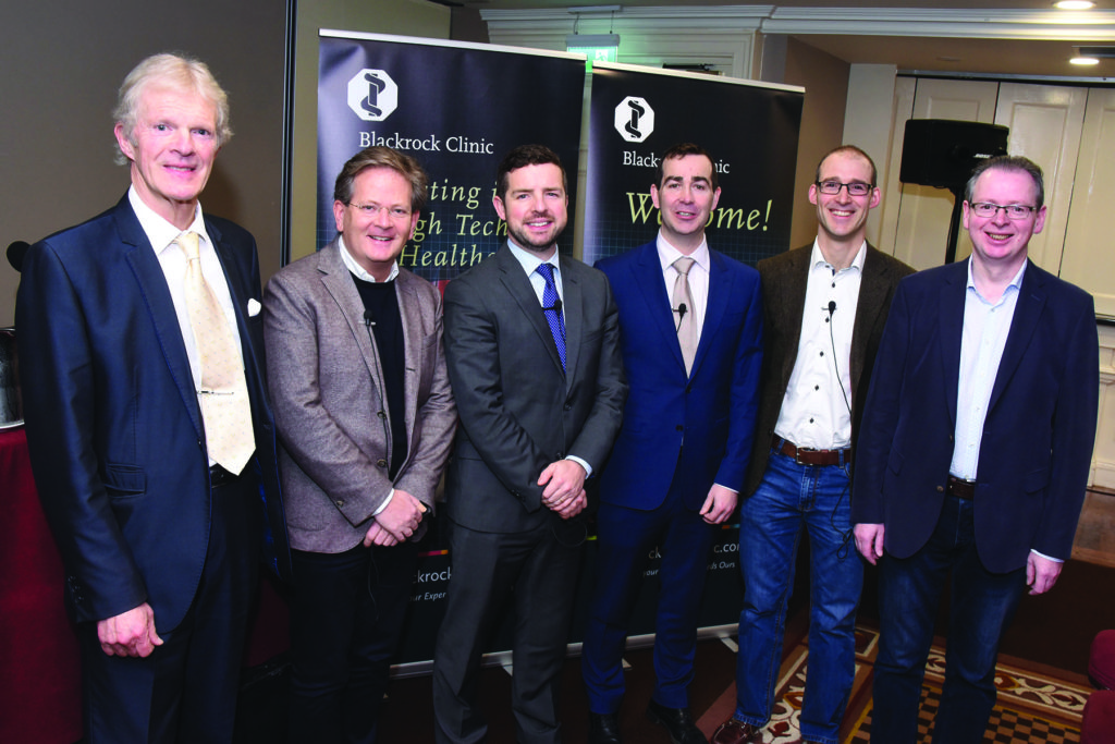 Blackrock Clinic General Practitioner Study Morning Mens' Health Speakers Dr. Mark Matthews, Chairperson, Professor Colm Bergin, Consultant In Infectious Diseases, Mr. Ivor Cullen, Consultant Urologist & Andrologist, Mr. Padraig Daly, Consultant Urologist, Dr. Diarmaid Houlihan, Associate Professor & Consultant Gasteroenterologist & Hepatologist, Mr. James O'Donoghue, CEO Blackrock Clinic.