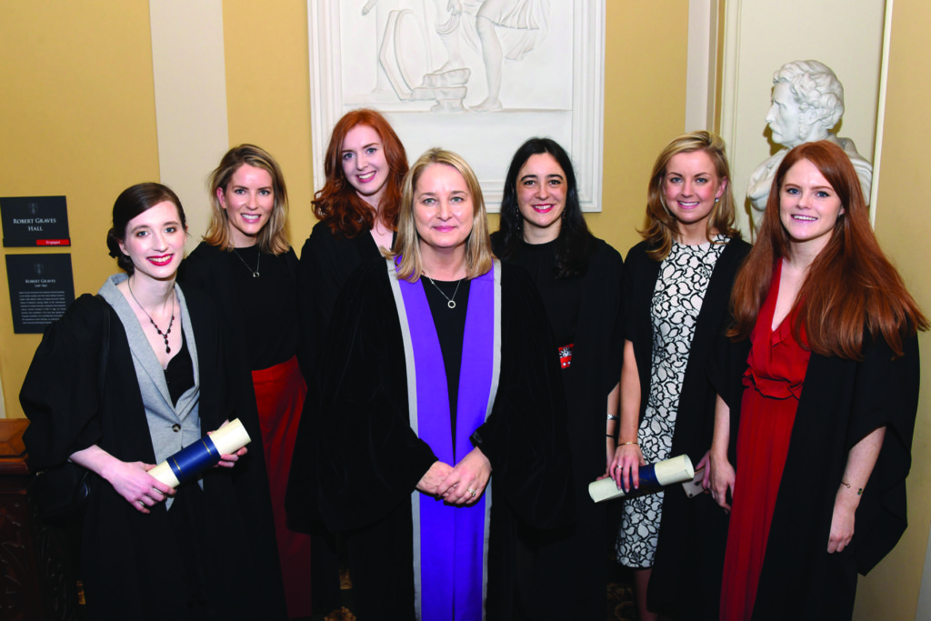 RCPI Membership Conferring Ceremony  Dr Jane O'Sullivan, Dr Miriam O'Connor, Dr Catherine King, Dr Judith Meehan, Dr Sinead Costello, Dr Jennifer Lee, Dr Isobel Hunt.
