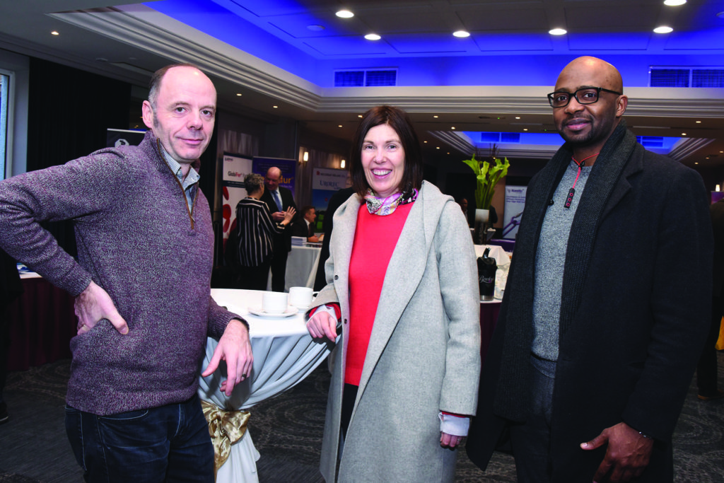 Captions Blackrock Clinic General Practitioner Study Morning Mens' Health Dr. Eddie Daly, Dr. Marguerite Doyle, Dr. Mohammed Kheder.