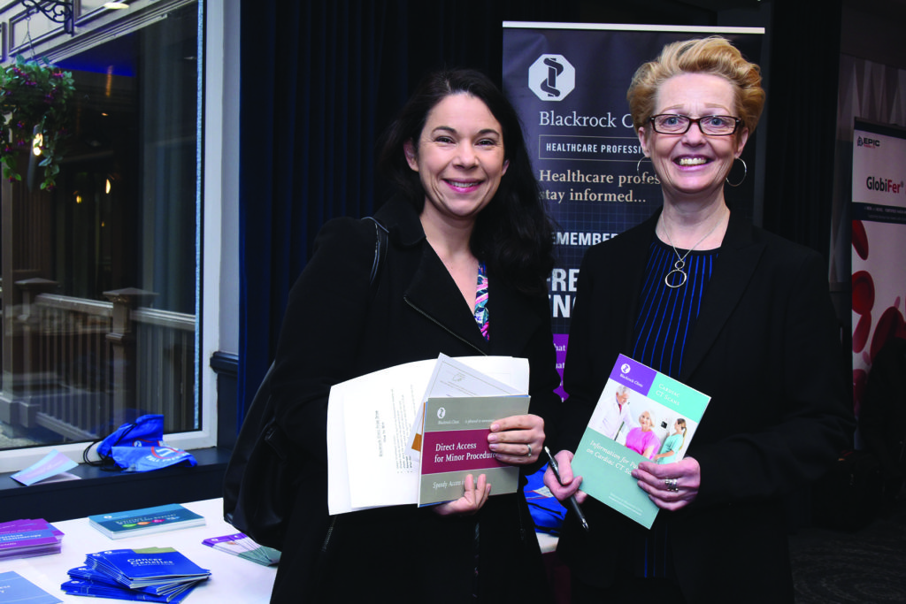 Blackrock Clinic General Practitioner Study Morning Mens' Health Dr. Iseult Coolahan, Ms. Amanda Smith, Blackrock Clinic.