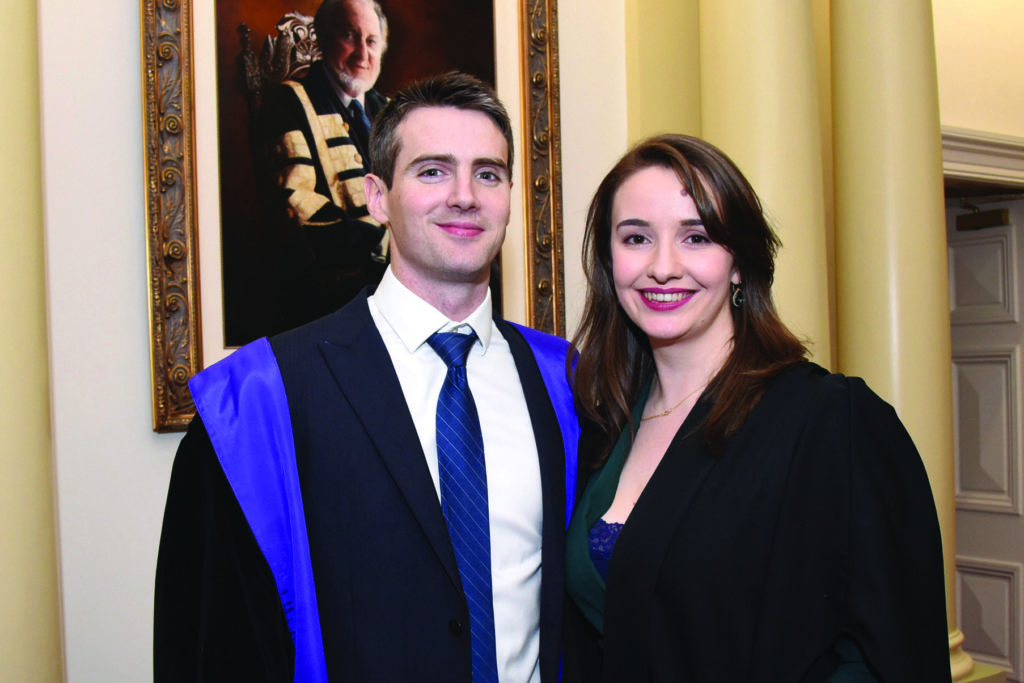 RCPI Membership Conferring Ceremony  Dr Barra Neary, Dr Aoife McFeely.