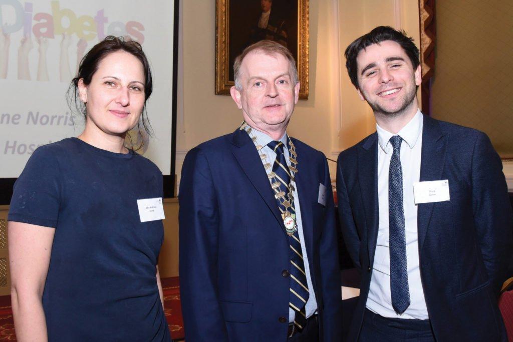 Irish Endocrine Society & International Society of Endocrinology Joint Symposium  Dr Iulia Andrada Ioana, Prof Brendan Kinsley, President Irish Endocrine Society, Dr Mark Quinn.