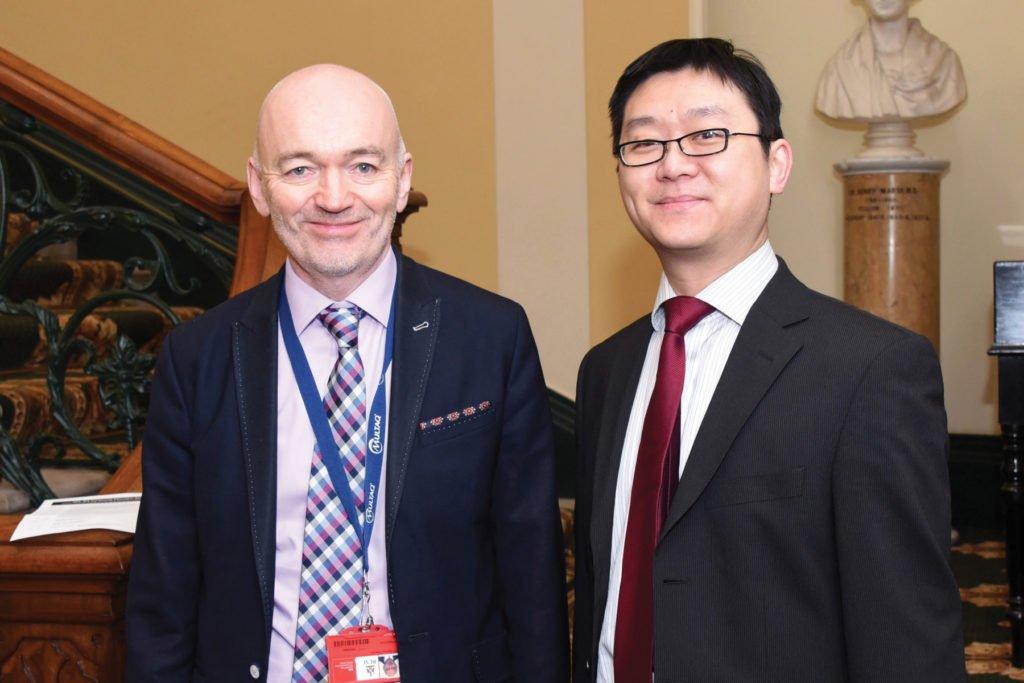 Irish Endocrine Society & International Society of Endocrinology Joint Symposium  Prof Seamus Sreenan, Dr Tommy Tun.