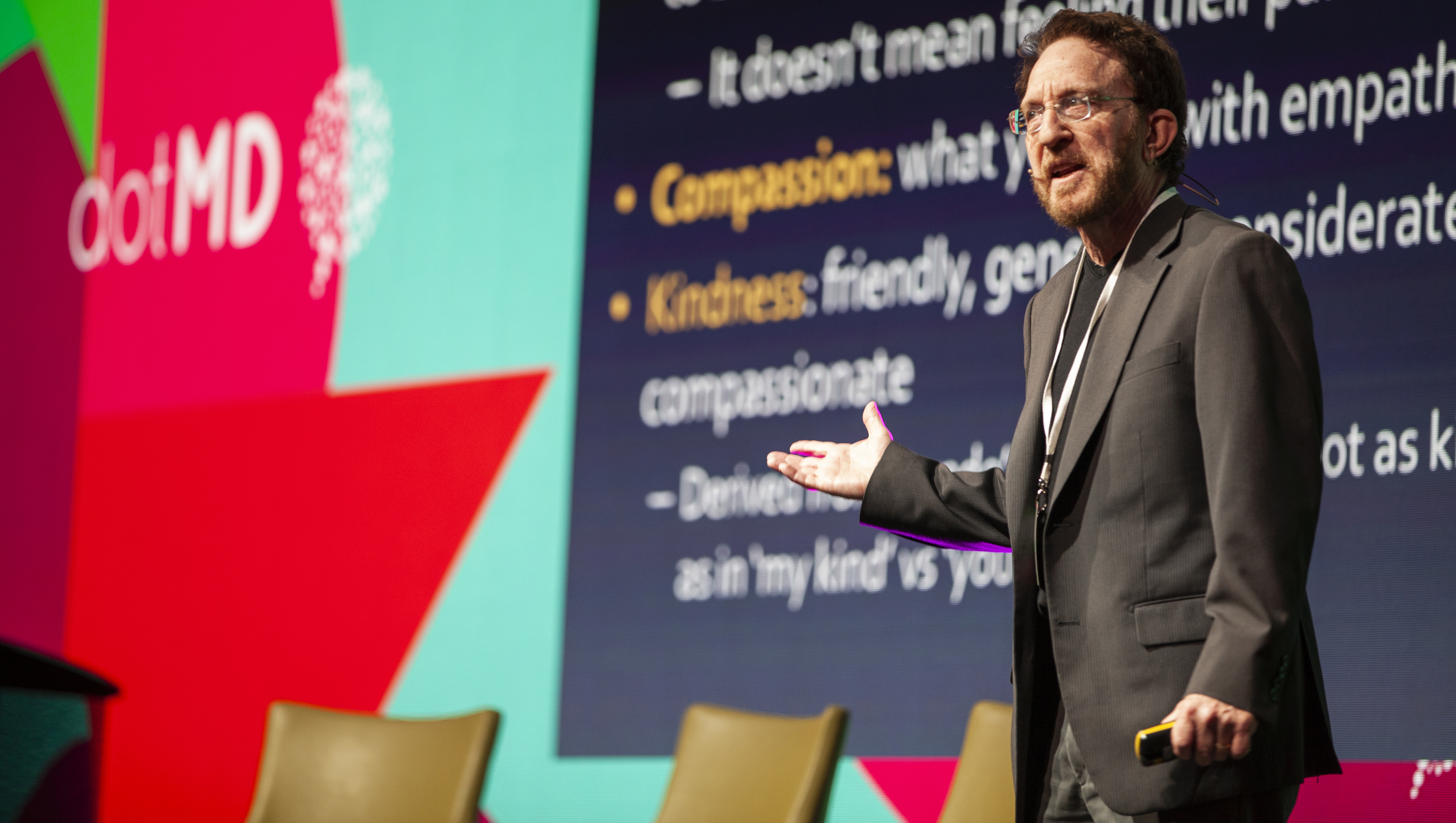 Brian Goldman - Kindness in Medicine - DotMD2019 at the Bailey Allen Hall NUIG 13/09/19