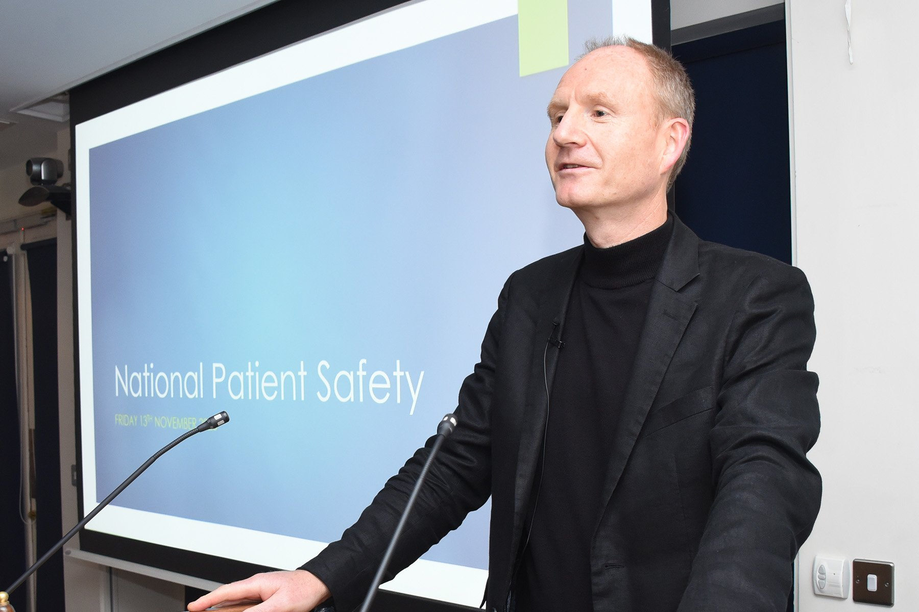 CAI 4th National Patient Safety in Anaesthesia Conference, KP Moore Competition and Winter College Lecture Dr Barry Lyons, CAI Director of Patient Safety and Quality Improvement